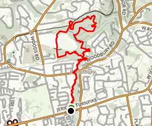 Stillwell Woods Park Loop Map
