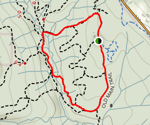 Old Main Trail Loop Map