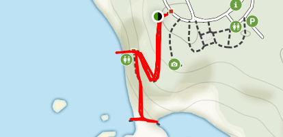 Combers Beach Trail Map
