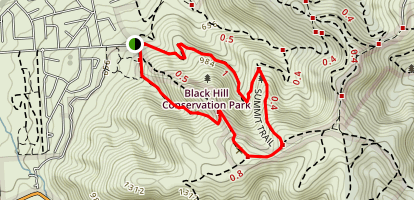 Summit Nature Trail Map