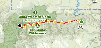Highline Trail Map