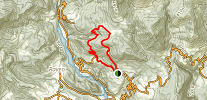 Lauco Trava, Mount Seri, Mount Cerantoni Map