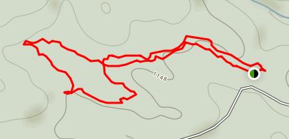 Woodland Loop Map