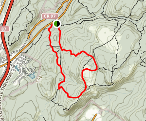 Seven Hills and Reeves Brook Loop Map