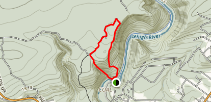 Glen Onoko Falls Trail Map