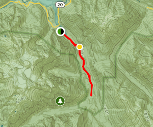 Thunder Creek Trail Map