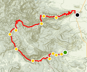 South Philmont: Zastrow Turnaround to Tooth of Time Map