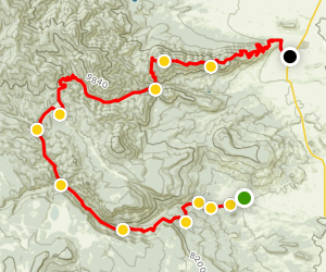 South Philmont: Zastrow Turnaround to Tooth of Time [PRIVATE PROPERTY] Map
