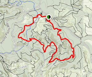 Browns Camp Area Loop Trail Map
