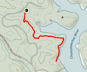 Terrapin Cove Trail Map