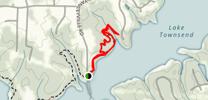 King Fisher Trail Map