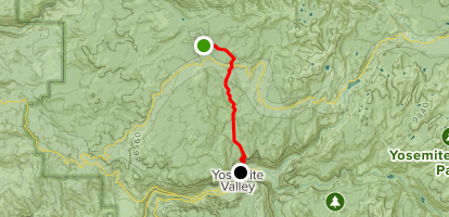 white wolf to upper yosemite falls to yosemite valley lodge
