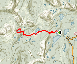 Island Lake Trail Map