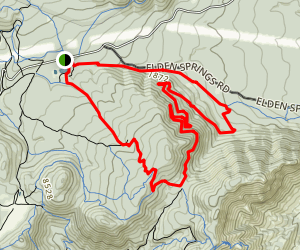 Little Bear to Sunset Loop Map