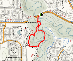 Mactaggart Sanctuary Path Map