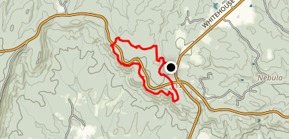White Candle Trail Loop Map