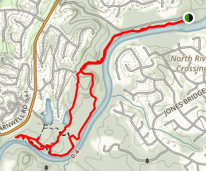 Jones Bridge Trail  Map