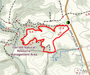 Fair Hill Loop Map