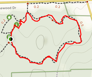Lookout Ridge Loop Map