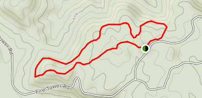 Iron Ore Hill Loop Trail Map