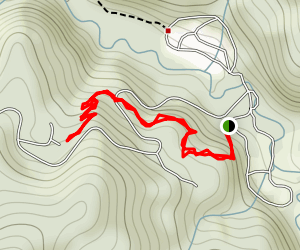 Saddler Skyline Trail Map