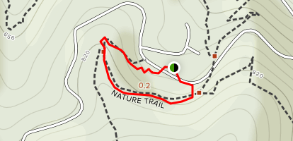 Mill Creek Campground Nature Trail Map