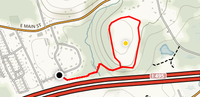 Pond Hill Summit Trail (PRIVATE PROPERTY) Map