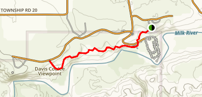 Hoo Doo Trail Map