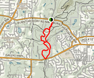 Burnt Hickory Trail Map