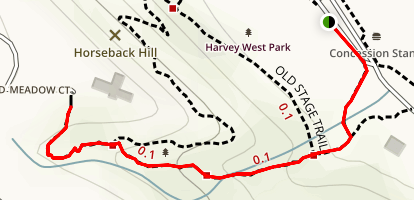 Wagner Grover Trail Map