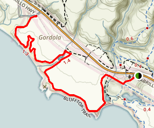 Blufftop Trail Map