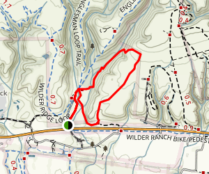 Cowboy Loop Trail Map