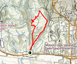 Englesman Loop Trail Map