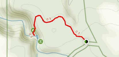 Lower Cascade Falls Trail Map