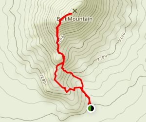 Bell Mountain Map
