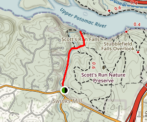 Scott's Run River Trail Map
