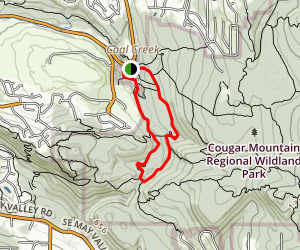 Red Town Trail to Wildside Trail Map