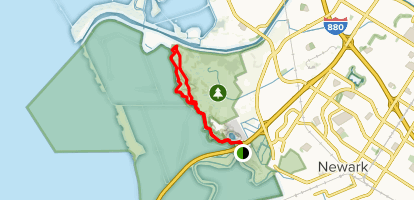 Apay Way to Bay View Trail to Red Hill Trail Loop Map