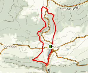 Trail Vielsalm Wallonie Map