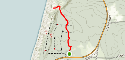 Baldy Dune Trail Map