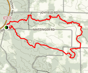 Dry Hills Trail Loop Map