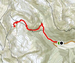 Jones Pass Map