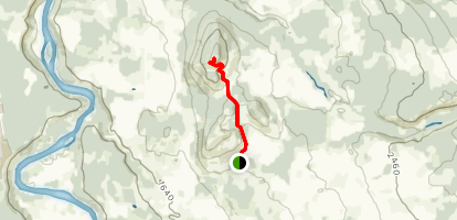 Malkow Lookout Trail Map