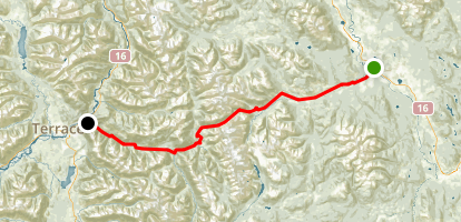 Telkwa Pass Map