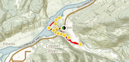 Copper Flats  Map