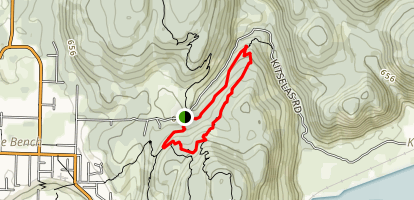 Terrace Mountain MTB - Hatchet Boy Loop Map