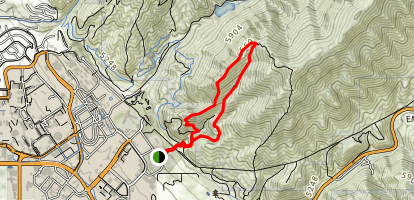 Red Butte Loop Map