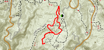 Clyde Canyon And Russel Trail Map