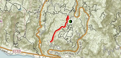 Long Hill Trail Map