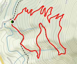 Tenderfoot and Oro Trail Loop Map